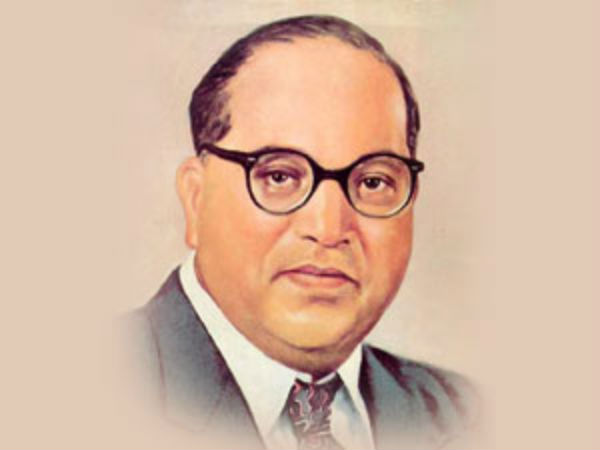 Anti-social elements made dr Ambedkar statue damaged