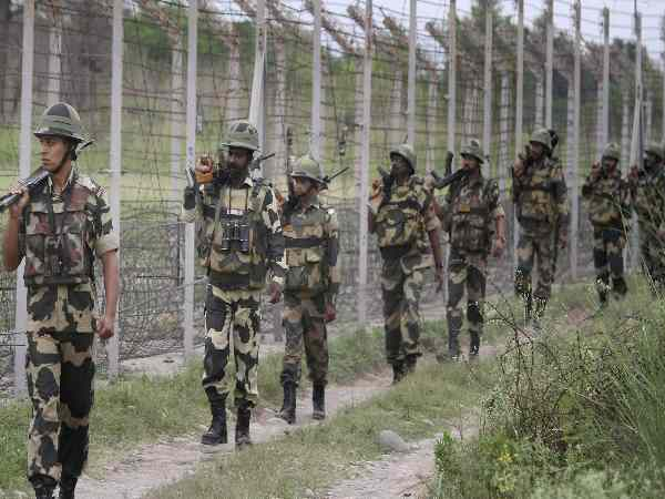 bsf caught Pakistani intruder who was trying to enter through india pakistan border