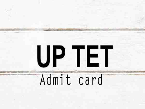 UPTET exam admit card will be released from today