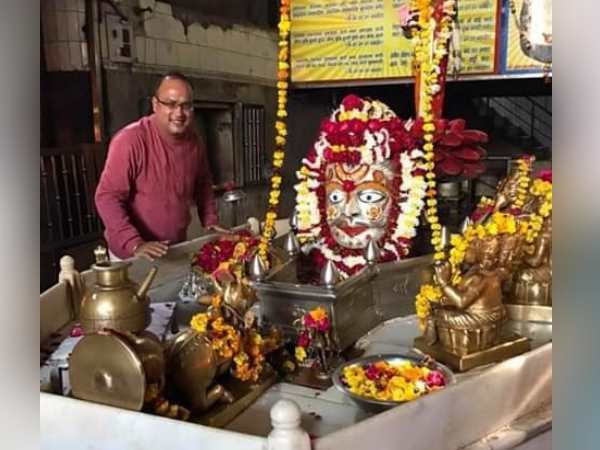 saint of mankameshwar temple uploaded objectionable picture of finance minister