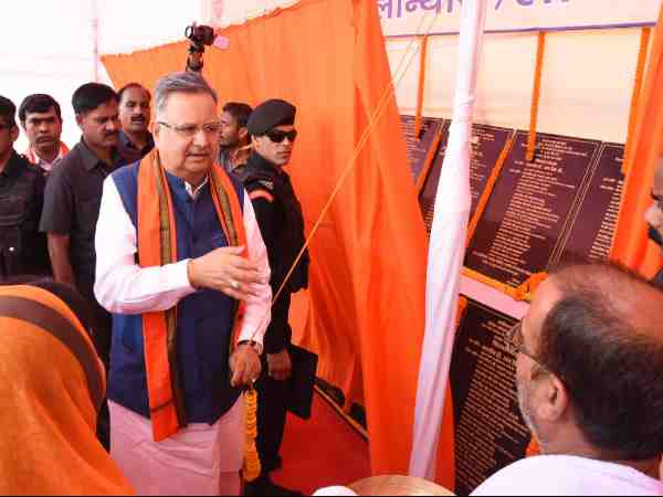 cm raman singh slams congress bhupesh baghel for state development