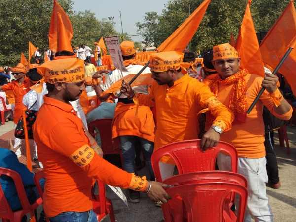 approx one thousand ram bhakt reached to ayodhya from raebareli