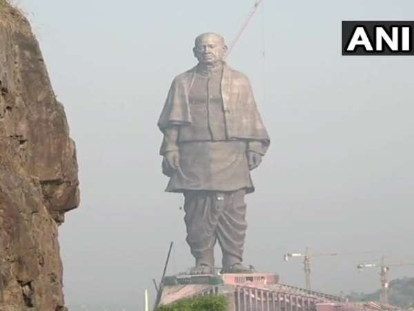 Sardar Vallabhbhai Patels Statue of Unity being given final touches, inaugurated by PM Narendra Modi on October 31
