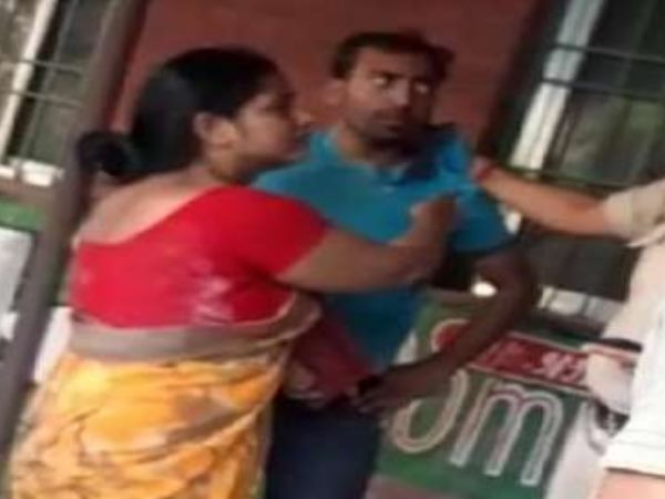 gopalganj wife caught his husband with a student in objectionable situation