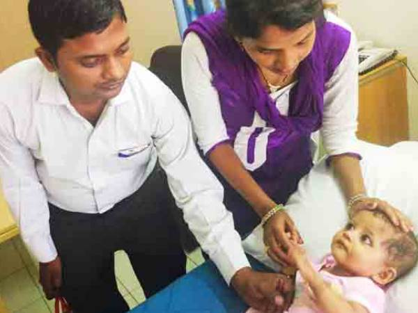 11 Months-Old Shivani Fights A Deadly Heart Disease