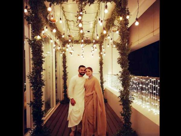 <strong>पढ़ें-कप्तान कोहली ने अनुष्का संग मनाई दिवाली, शेयर की रोमांटिक तस्वीर</strong>