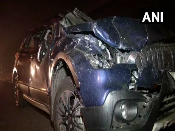 Woman dead, a man & a child critically injured in a collision between three vehicles at Punjabi Bagh flyover late last night.