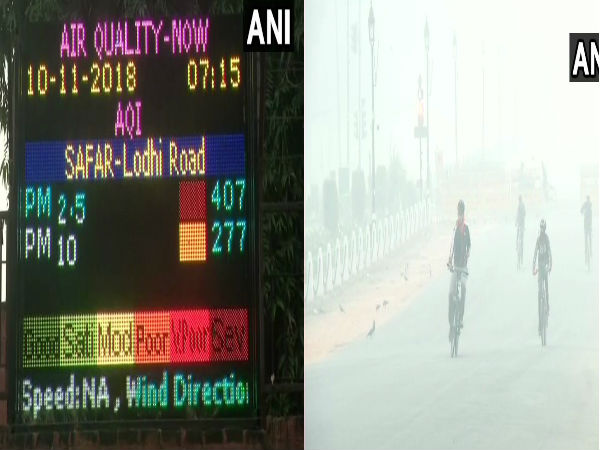 After highest number of farm fires, Delhi in for foggy, polluted weekend