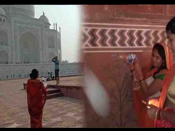 fir registered against three women who perform pooja in tajmahal mosque