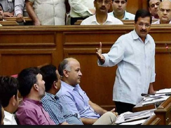 AAP passes resolution to bring Delhi Police under state government in assemblys special session