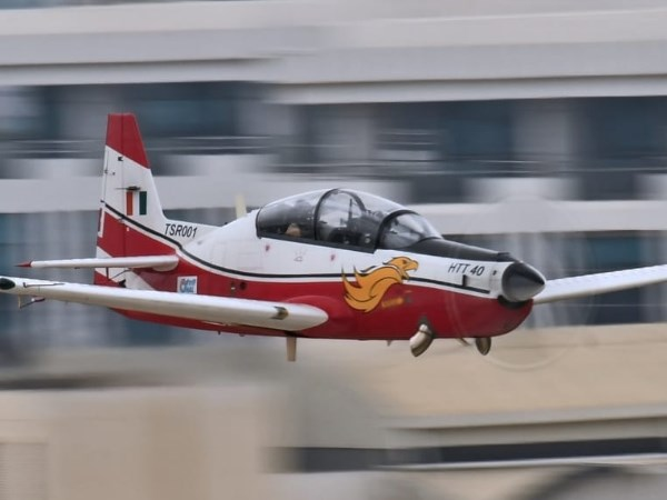 HTT 40 Basic Trainer Aircraft began the most awaited phase of the spin test
