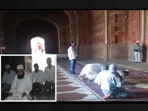 रोक के बावजूद मुस्लिमों ने पढ़ी ताजमहल में नमाज, जबरदस्ती घुस आने का वीडियो वायरल