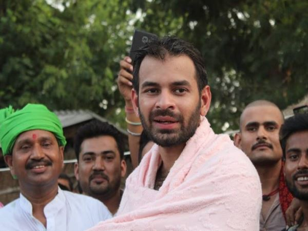 Tejpratap Yadav Divorce case: Lalu Yadavs son searching for peace in Mathura, said please leave me alone