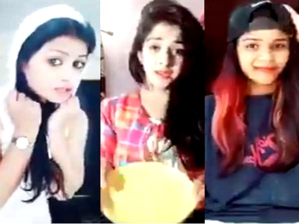 Girls Lipsing on Bhojpuri ThiK Hai songs, Video Viral On Social Media facbook and Twitter