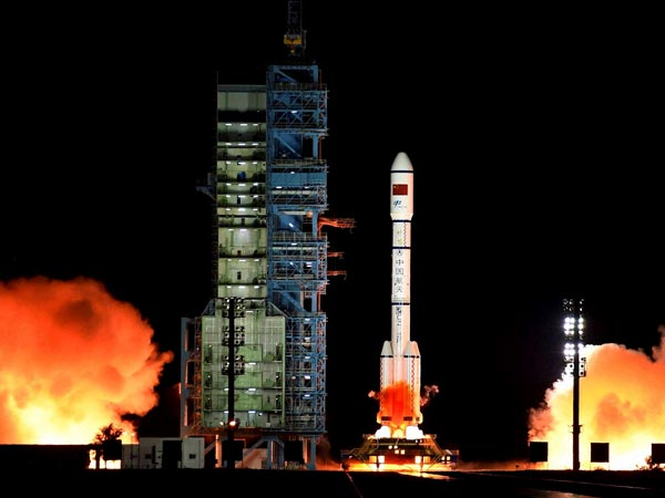 Indias first home-grown private satellite to hit space