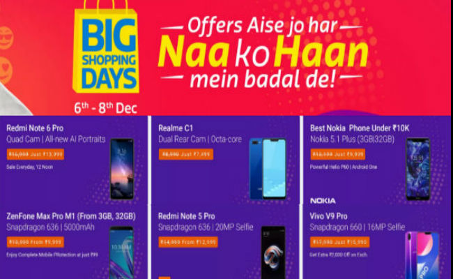 Flipkart Big Shopping Day Sale: offers on Poco F1, Pixel 2 XL and more Smartphone