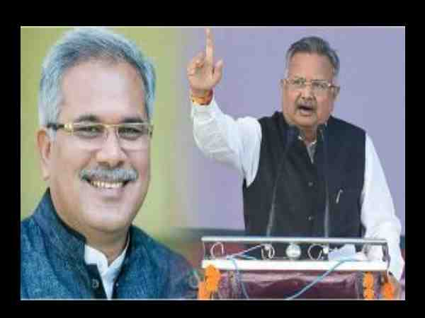 raman singh age is not for hitting sixes says bhupesh baghel