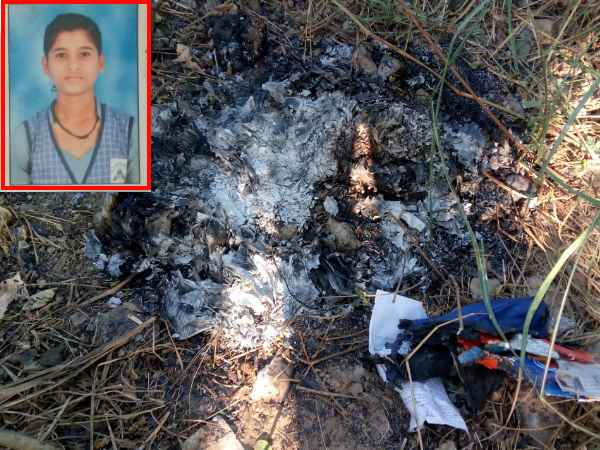 A 10th class student burnt alive in Agra