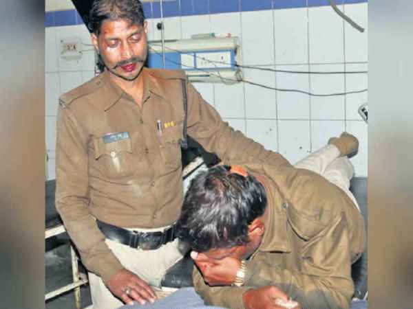 attack on Bhopal police and fled with murder accused