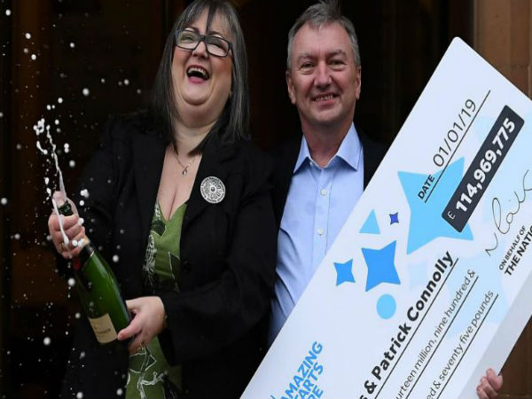 EuroMillions winning couple who scooped £115m jackpot then celebrated with cuppa revealed