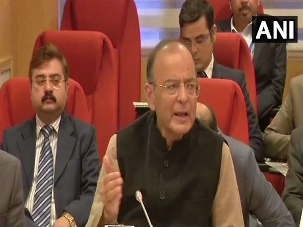 FM Arun Jaitley after GST meet: From 1st April 2019, composition scheme limit will be increased to 1.5 crores.