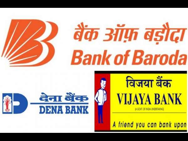 Cabinet approves first-ever three way merger in Indian Banking with amalgamation of Vijaya Bank, Dena Bank and Bank of Baroda.