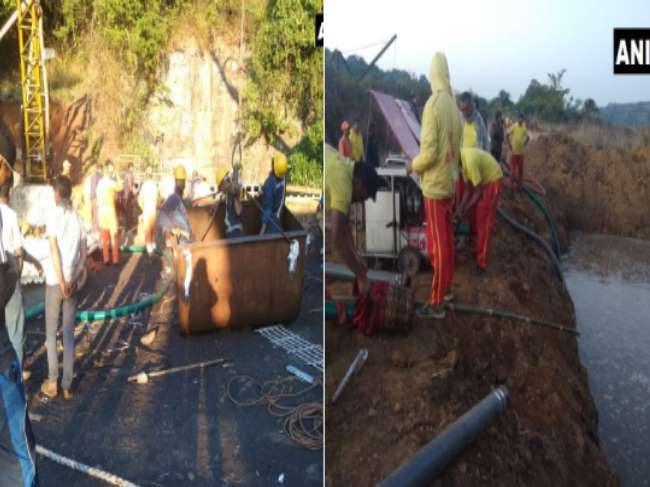 Meghalaya Miners: NRDF is coordinating with agencies, total water discharge pumped out is 1,80,000 Liters