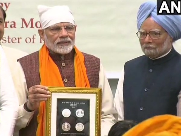 PM Narendra Modi releases commemorative coin to mark birth anniversary of Guru Gobind Singh