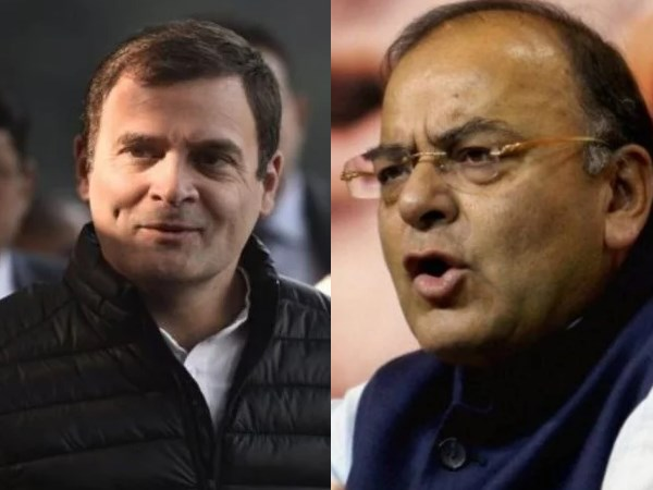 Finance Minister Arun Jaitley calls Rahul Gandhi the grandson of Emergency dictator