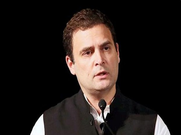 rahul gandhi amethi visit: farmers staged protest says go back to italy