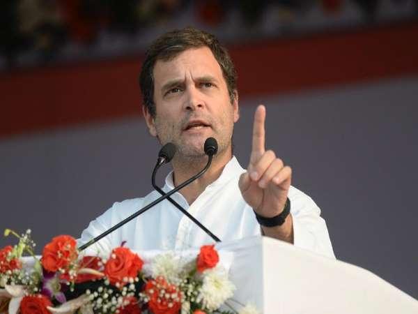 <strong>छत्तीसगढ़ दौरे पर राहुल गांधी, किसान आभार सम्मेलन में मोदी सरकार पर जमकर साधा निशाना</strong>