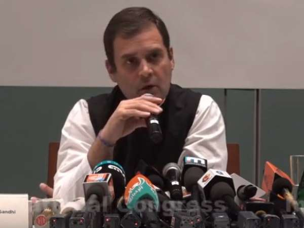 Rahul Gandhi on SP-BSP alliance, says Respect for Akhilesh Yadav and Mayawati