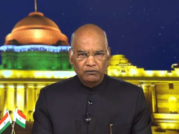 President Ram Nath Kovind in his address to the nation on the eve of the 70th Republic Day