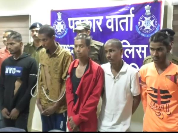 Five accused arrested by ujjain police