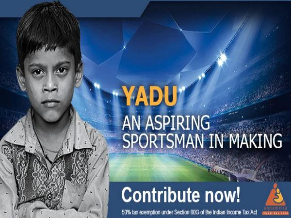 8 year old yadu would now fulfill his dreams, his mother works in houses for living