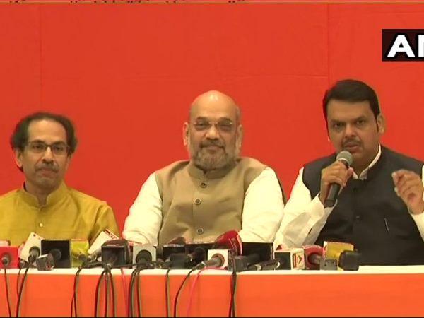 महाराष्ट्र में गठबंधन, भाजपा 25, शिवसेना 23 लोकसभा सीटों पर लड़ेगी