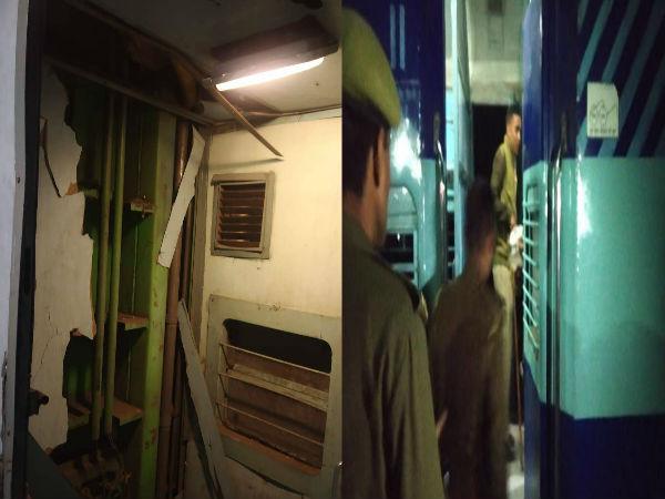 कानपुर के पास कालिंदी एक्सप्रेस में धमाका, मौके पर पहुंची ATS की टीम