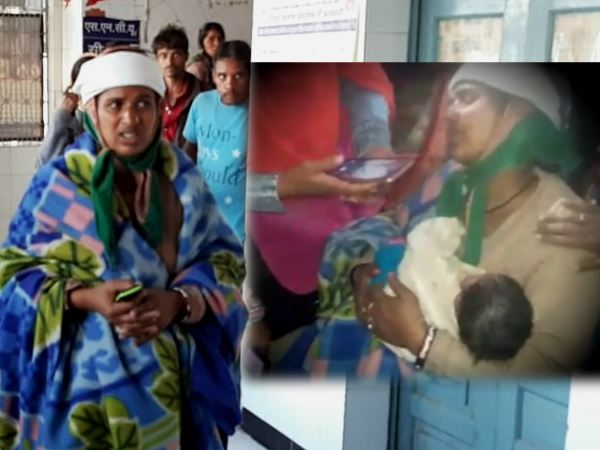Newborn baby theft from Katni hospital and found after three hours