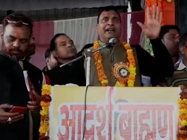 bjp mla rk sharma controversial statement