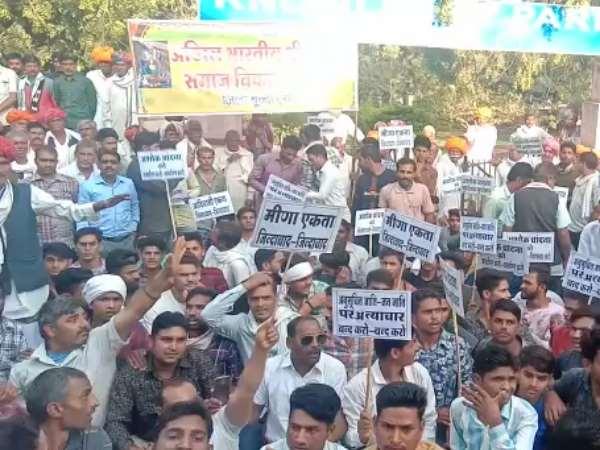 राजस्थान : गहलोत सरकार के मंत्री चांदना के खिलाफ सड़कों पर उतरा मीणा समाज, VIDEO