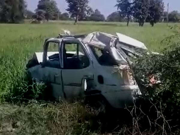 three youth Killed in road accident in tikamgarh