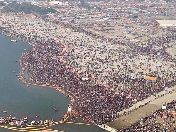 Kumbh2019: second Shahi Snan of Mauni Amawasya, prayagraj live updates