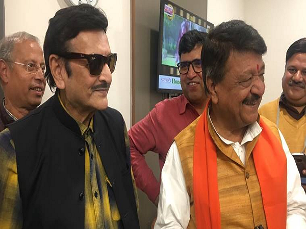 Veteran actor Biswajit Chatterjee joined the Bharatiya Janata Party