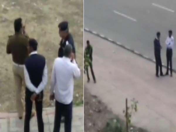दिल्ली: अक्षरधाम मंदिर के पास पुलिस टीम पर फायरिंग, एक आरोपी गिरफ्तार