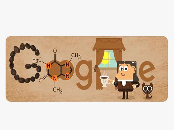google doodle of german scientist friedlieb ferdinand runge 225th birthday who invented caffeine