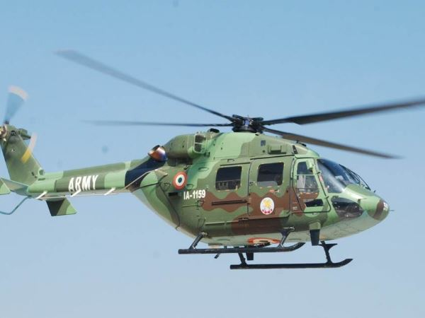 एचएएल ने 'ध्रुव' हेलीकॉप्टरों की पहली खेप भारतीय सेना को सौंपी