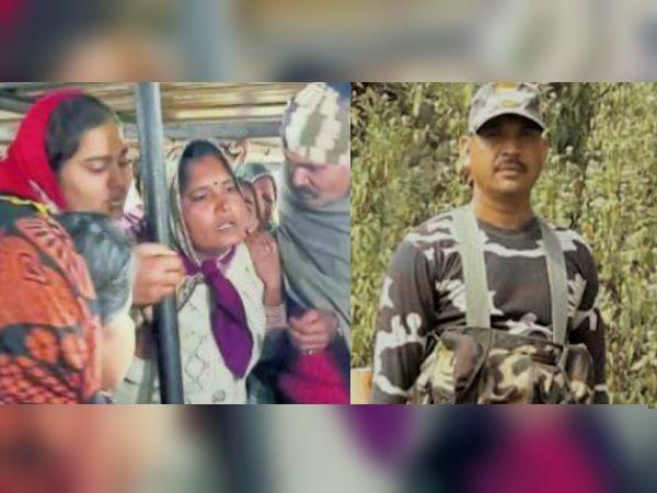 पुलवामा हमला: शहीद हेमराज मीणा की वीरांगना बोलीं-'मेरे पति को मारने वालों की लाशें बिछा दो...'