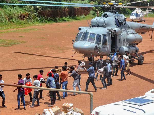 Kerala Government gets 102 Crores Bill For Using Air Force aircraft during Flood Rescue