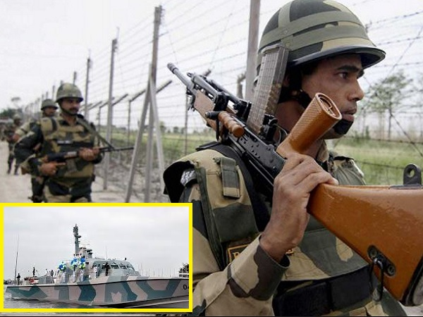 पाकिस्तान बॉर्डर पर पेट्रोलिंग, तटीय क्षेत्रों में हाई अलर्ट, गुजरात के मंदिरों की सुरक्षा बढ़ी