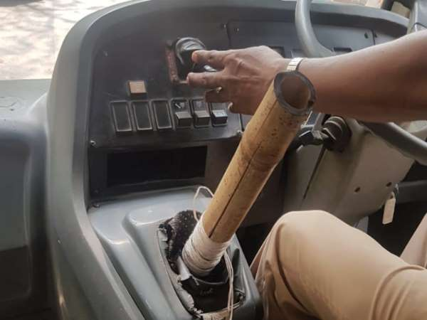 Mumbai School Bus Driver Arrested for Using Bamboo Stick Instead of Gear Lever